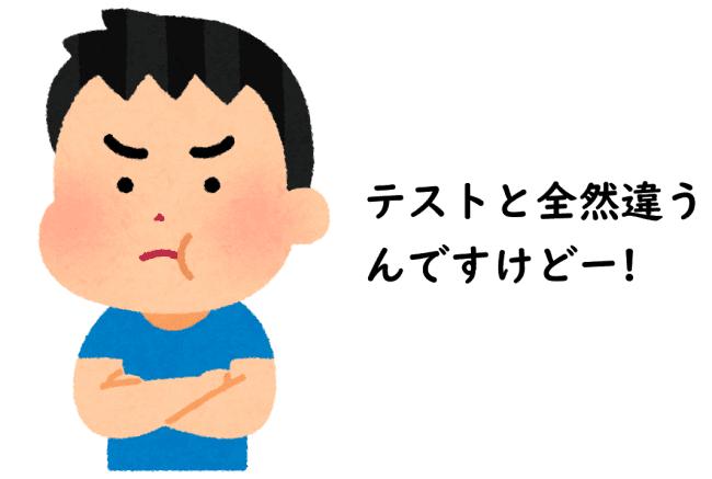 文句イメージ