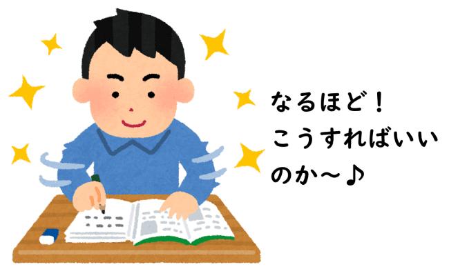 勉強法イメージ